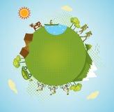 Eco turism Arkivbild