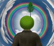 eco umysł Zdjęcie Royalty Free