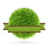 Eco vänlig etikett Royaltyfria Foton