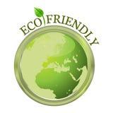 Eco vänskapsmatch Arkivfoton