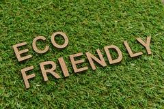 Eco vänskapsmatch arkivbilder