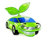 Eco vänskapsmatchbil Arkivfoton