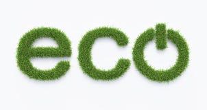 Eco-vänskapsmatchen driver symbol Arkivfoton