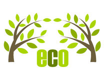 Eco vector Royalty Free Stock Photos