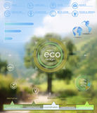 Eco vector backgroung Stock Photography