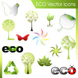 ECO vektorset Stockbild
