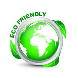 ECO verde _1 AMICHEVOLE Fotografia Stock