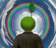 Eco Verstand Lizenzfreies Stockfoto