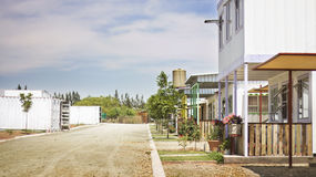 Eco Village Orania Stock Photo