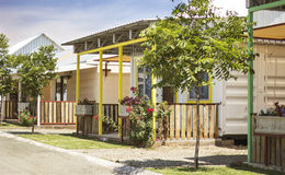 Eco Village Orania Royalty Free Stock Image