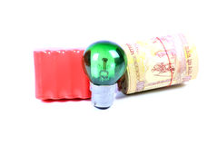 Eco vriendschappelijke energie Royalty-vrije Stock Fotografie