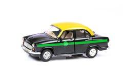 Eco vriendschappelijke taxi stock afbeelding