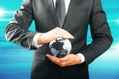Eco vriendschappelijke zaken, milieubeschermingconcept Stock Afbeeldingen