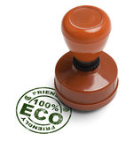 Eco vriendschappelijke zegel Royalty-vrije Stock Foto