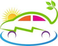Eco władzy samochód Obrazy Stock
