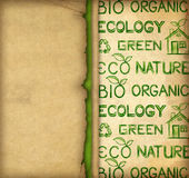 Eco wallpaper Royalty Free Stock Photography