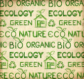 Eco wallpaper Royalty Free Stock Images