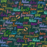 Eco wallpaper Stock Photography