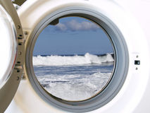 Eco Waschmaschine Stockbilder