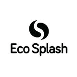 Eco Water Drop Droplet Ying Yang Splash Logo Royalty Free Stock Photo