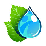 Eco water Royalty Free Stock Images