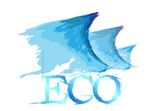 Eco and wave Stock Photos