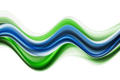 Eco wave design illustration Royalty Free Stock Photography