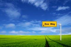 Eco way 2 Stock Photos