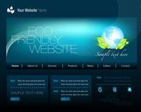 Eco Web site lizenzfreie abbildung