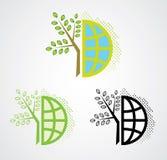 Eco Welt lizenzfreie abbildung