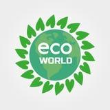 Eco-Weltkonzept Lizenzfreies Stockfoto