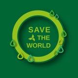 Eco-Weltkonzept Stockbilder