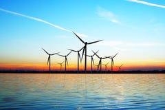 Eco Wind-Leistung stockfotografie