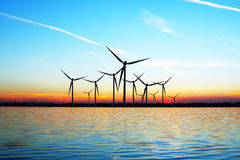 Eco Wind Power Stock Photography