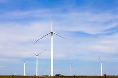 Eco Windmill Royalty Free Stock Photo