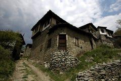 Eco wioska w Rodopi górach, Bułgaria Zdjęcie Royalty Free