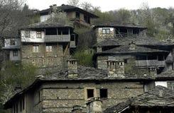 Eco wioska w Rodopi górach, Bułgaria Obraz Royalty Free
