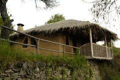Eco wioska w Rodopi górach, Bułgaria Obraz Stock