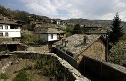 Eco wioska w Rodopi górach, Bułgaria Fotografia Royalty Free