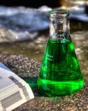 Eco Wissenschaft Stockbild