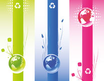 Eco World Banner Stock Images