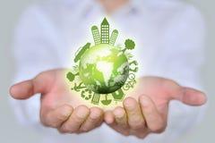 Eco world Stock Photography