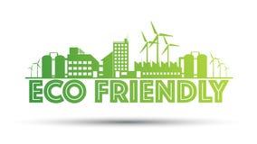 Eco życzliwy manufactory Zdjęcia Stock
