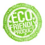 eco życzliwy produktu znaczek Fotografia Royalty Free
