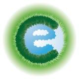 Eco Zeichen Stockfoto