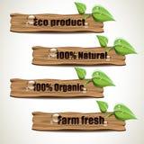 Eco-Zeichen stock abbildung