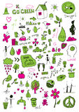 Eco-Zeichen Lizenzfreies Stockfoto