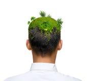 eco zieleni umysł zdjęcie stock