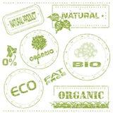 eco znaczki Zdjęcie Royalty Free