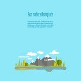 Ecoaard 01 royalty-vrije illustratie